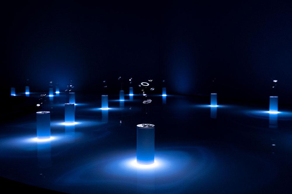 今年ミラノサローネで公開された「THE NATURE OF TIME」の東京展。